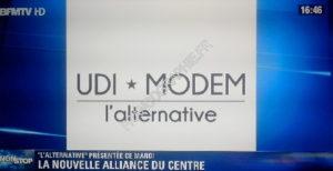 UDI - MODEM : une alternative qui ne peut rassembler !