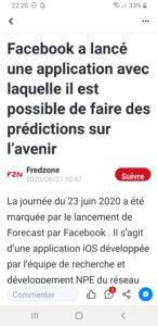 Sur l'avenir ?